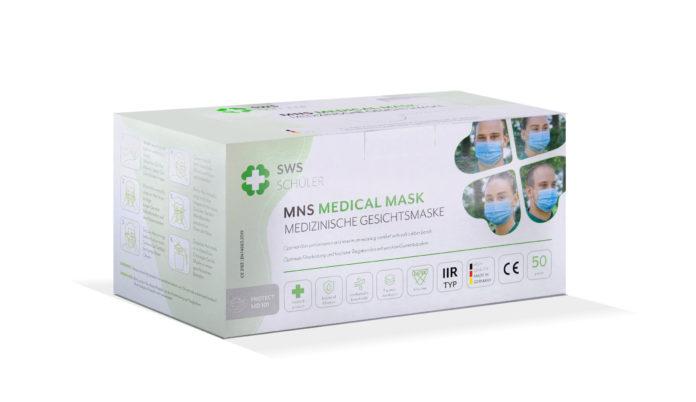 Medizinische Gesichtsmaske von SWS Schuler